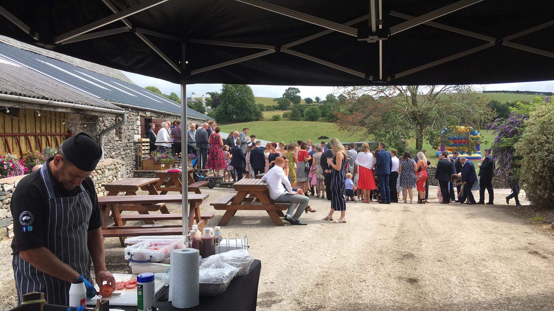 hog roast skipton