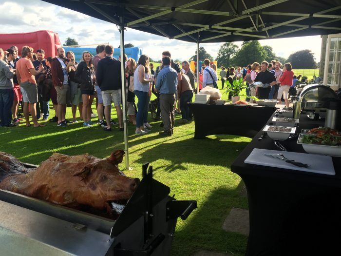 hog roast event
